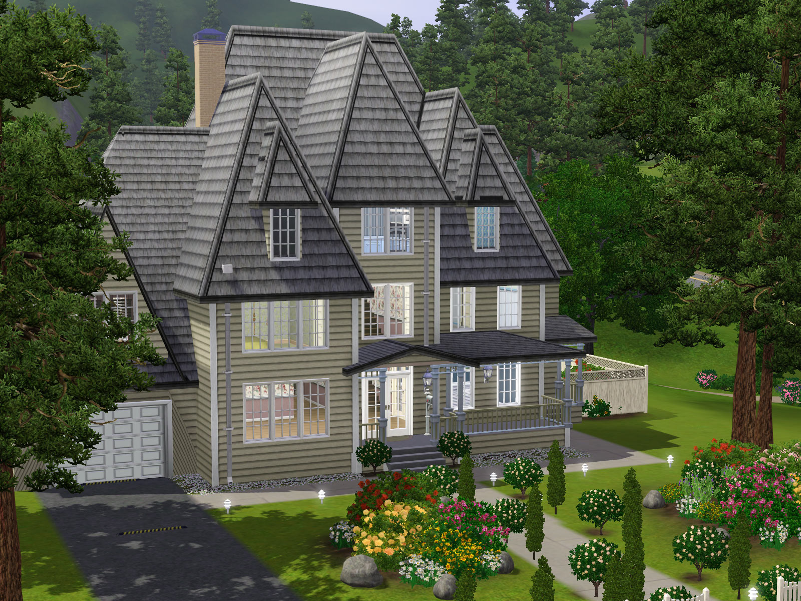 Parsimonious the sims 3 houses for Rochester house